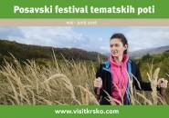 Posavski festival tematskih poti maj in junij 2016